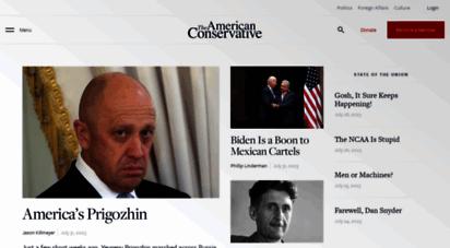 theamericanconservative.com - the american conservative