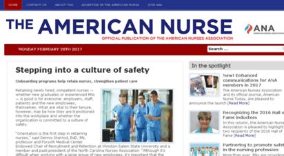 theamericannurse.org -