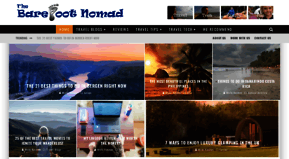 thebarefootnomad.com - the barefoot nomad travel site : travel, tech, family, fun