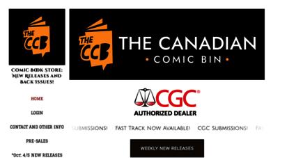thecanadiancomicbin.com - the canadian comic bin