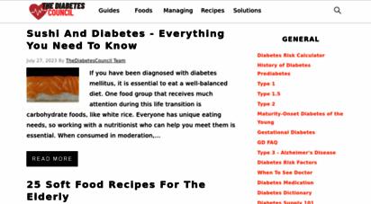 thediabetescouncil.com - thediabetescouncil.com - 1 diabetes resource website