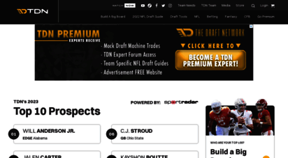 thedraftnetwork.com - the draft network  nfl draft rankings, predictions, & coverage