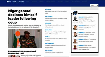 theeastafrican.co.ke - the east african - understanding the region  home