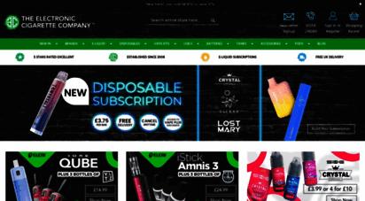 theelectroniccigarette.co.uk - e-liquid e-cigs online vape shop  tecc