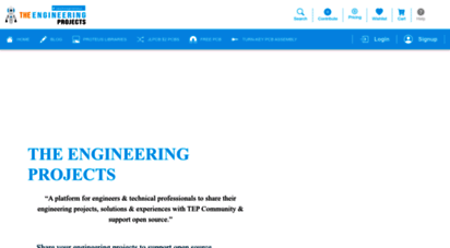 theengineeringprojects.com - home - the engineering projects