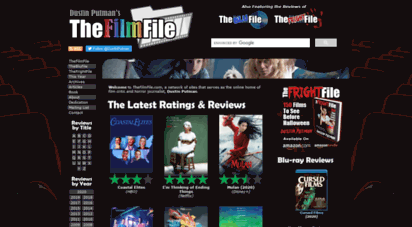 thefilmfile.com - thefilmfile  theblufile  thefrightfile  movie reviews by dustin putman