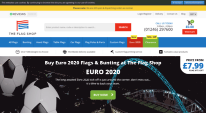 theflagshop.co.uk - buy flags  buy world flags  world flags - uk flag shop