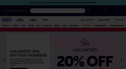 thefragranceshop.co.uk - the fragrance shop  cheap perfume shop  men´s aftershave