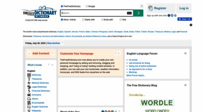 thefreedictionary.com
