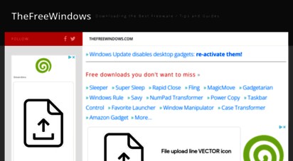 thefreewindows.com - best freeware & guides : thefreewindows downloads