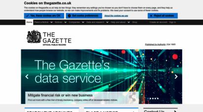 thegazette.co.uk