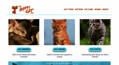 thehappycatsite.com - the happy cat site