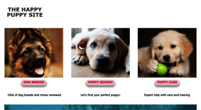 thehappypuppysite.com - the happy puppy site