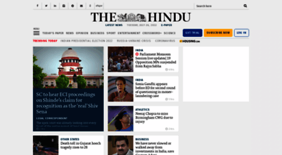 thehindu.com - the hindu: breaking news, india news, sports news and live s