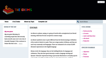 theidioms.com - the idioms - largest idioms dictionary