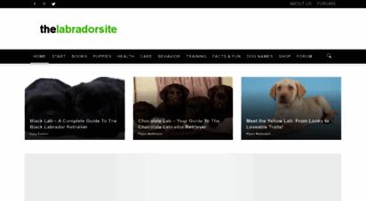 thelabradorsite.com - the labrador site