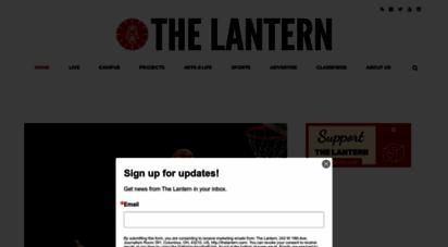 thelantern.com - the lantern - the student voice of the ohio state university
