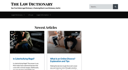 thelawdictionary.org -