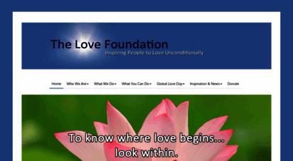 thelovefoundation.com