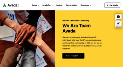 theme-fusion.com - themefusion  avada website builder for wordpress & woocommerce