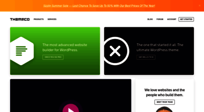 theme.co - we love websites & the people who build them