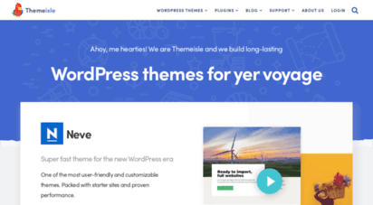 themeisle.com - premium wordpress themes, templates & plugins @ themeisle
