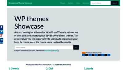 Welcome to Themetix com - WordPress Theme Universe - themes