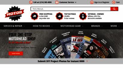 themotorbookstore.com - car & motorcycle repair manuals: chilton, haynes  the motor bookstore