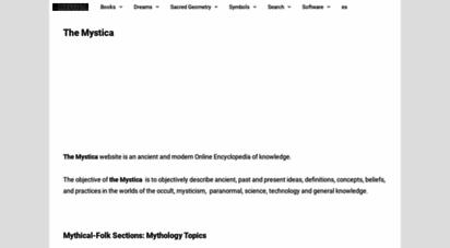 themystica.com - the mystica.org