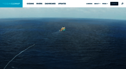 theoceancleanup.com - the ocean cleanup