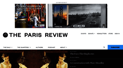 theparisreview.org - paris review - writers, quotes, biography, interviews, artists