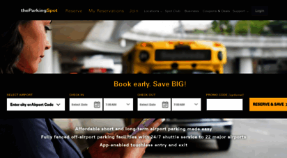 theparkingspot.com - the parking spot - we have airport parking covered