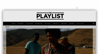 theplaylist.net - the playlist  movie & tv news, reviews, trailers, & podcasts