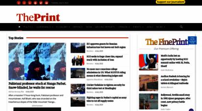 theprint.in - news: latest news, india news, world news, opinion, politics, governance, defence, economy, education  theprint