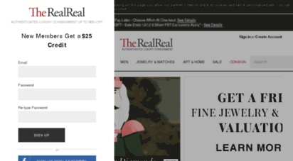 therealreal.com - luxury consignment sales. shop for pre-owned designer handbags, shoes, jewelry and more  the realreal