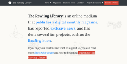 therowlinglibrary.com - the rowling library - news, thoughts and reviews of j.k. rowling´s work and related