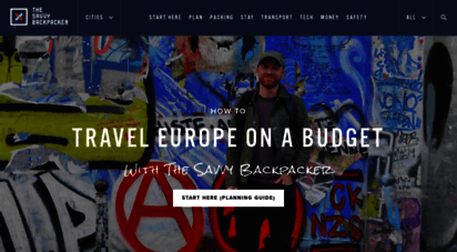 thesavvybackpacker.com - ultimate guide to budget backpacking europe - the savvy backpackerguide to budget backpacking in europe - the savvy backpacker  how to backpack europe cheap. travel tips, costs, itinerary, routes, packing lists, hostels, eurail psss, planning checklist & more