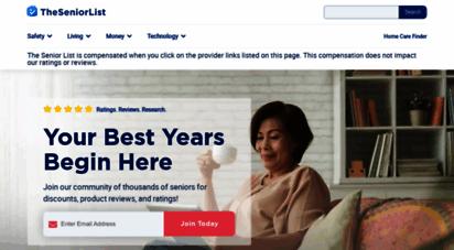 theseniorlist.com - the senior list - your best years begin here