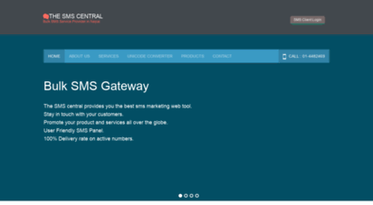 thesmscentral.com - the sms central :: bulk sms marketing - nepal