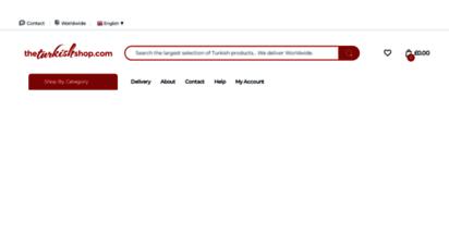 theturkishshop.com - the turkish shop online - turkish delights, coffees, teas, towels & kilims