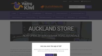 thevapingkiwi.co.nz - the vaping kiwi  vape nz  e-cigarettes &amp e-liquid