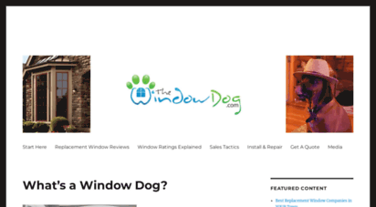 thewindowdog.com - find the best replacement windows for your home
