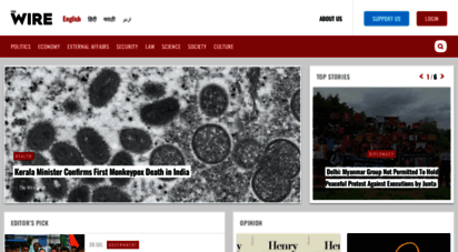 thewire.in - the wire: the wire news india, latest news,news from india, politics, external affairs, science, economics, gender and culture