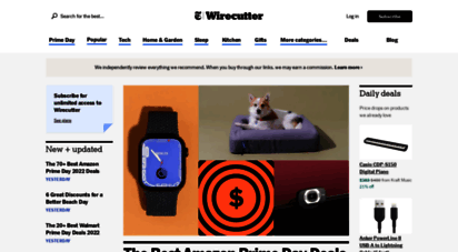 thewirecutter.com - wirecutter: new product reviews, deals, and buying advice