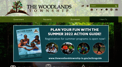 thewoodlandstownship-tx.gov - the woodlands township, tx