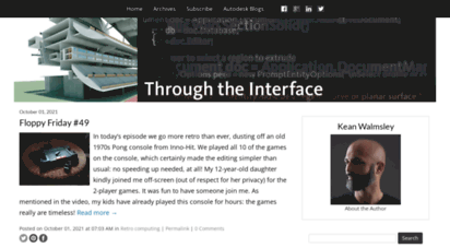 through-the-interface.typepad.com - through the interface