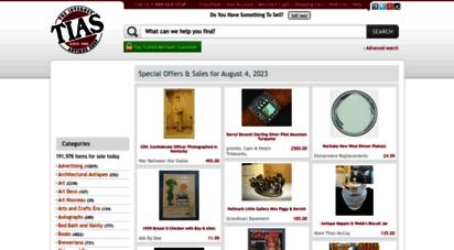 tias.com - the internet antique shop - the web´s largest antiques & collectibles mall serving collectors since 1995