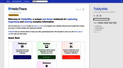tiddlywiki.com -