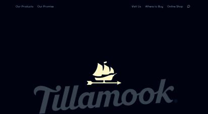 tillamook.com - dairy co-op - tillamook