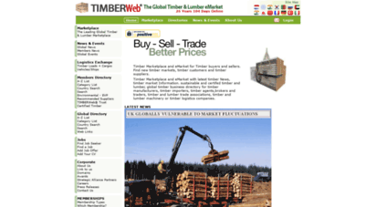 timberweb.com - timber marketplace global timber marketplace